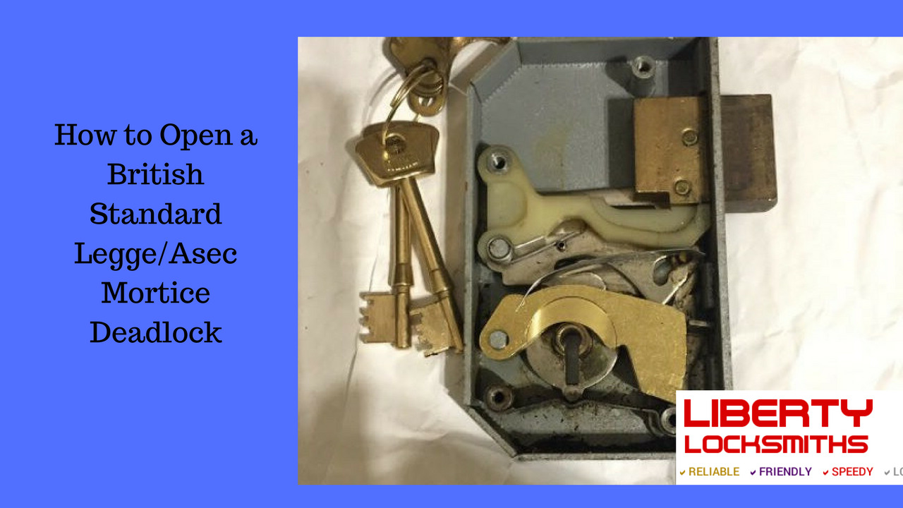 How to Decode a British Standard Mortice Lock with GJ locks Decoder