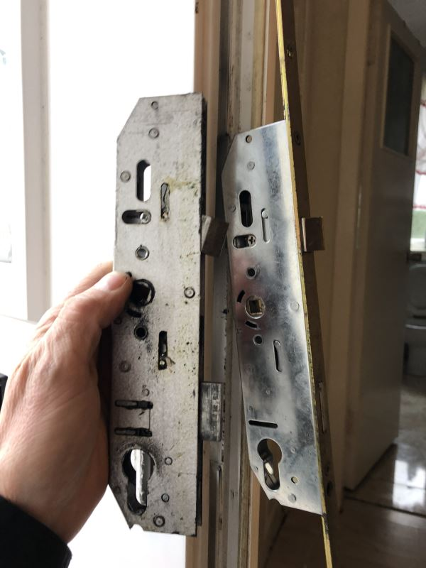Faulty uPVC doors