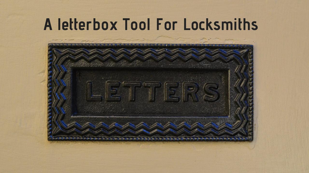 Glasgow locksmith letterbox tool